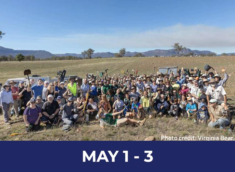 Regent Honeyeater tree Planting Weekend